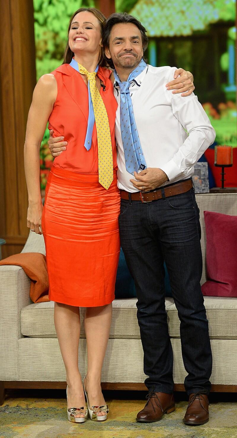 """Tras trabajar con el mexicano en la cinta """"Milagros del cielo"""", la ex de Ben Affleck lo calificó como un """"maestro de la actuación""""."""