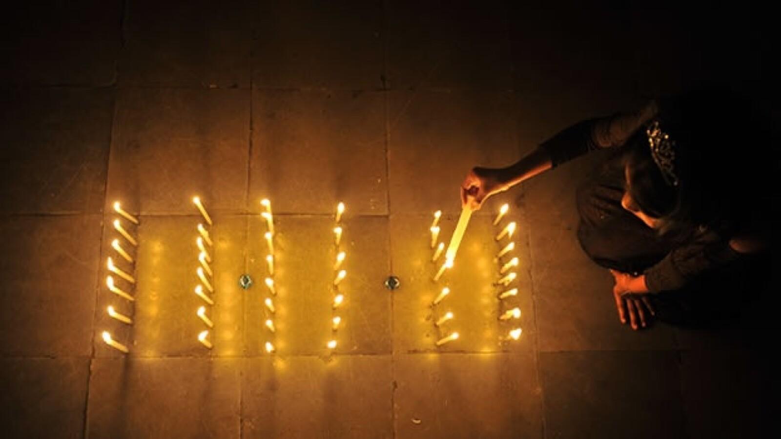 dia celebracion 11.11.11 velas