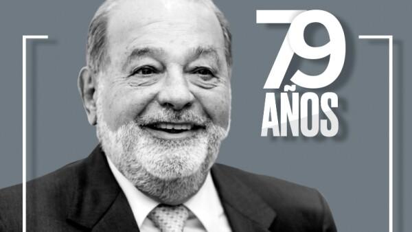 Carlos Slim cumple 79 años