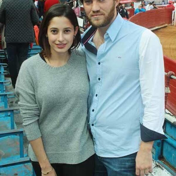Daniela Yamiz y José Manuel Hernández
