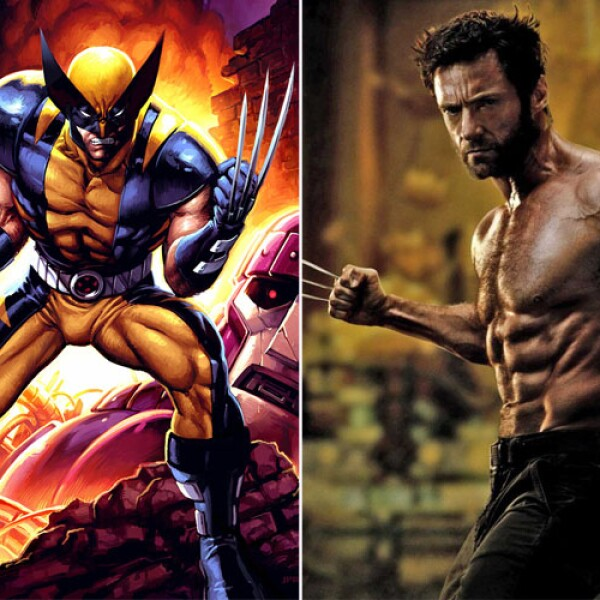 Hugh Jackman dio vida a Wolverine, el famoso mutante con garras de acero.