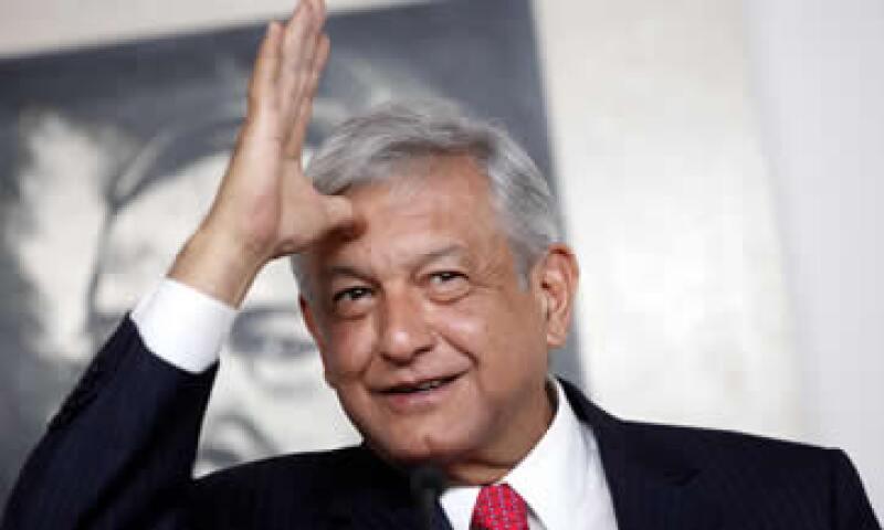 López Obrador es Licenciado en Ciencias Políticas y Administración Pública por la Universidad Nacional Autónoma de México. (Foto: Notimex)