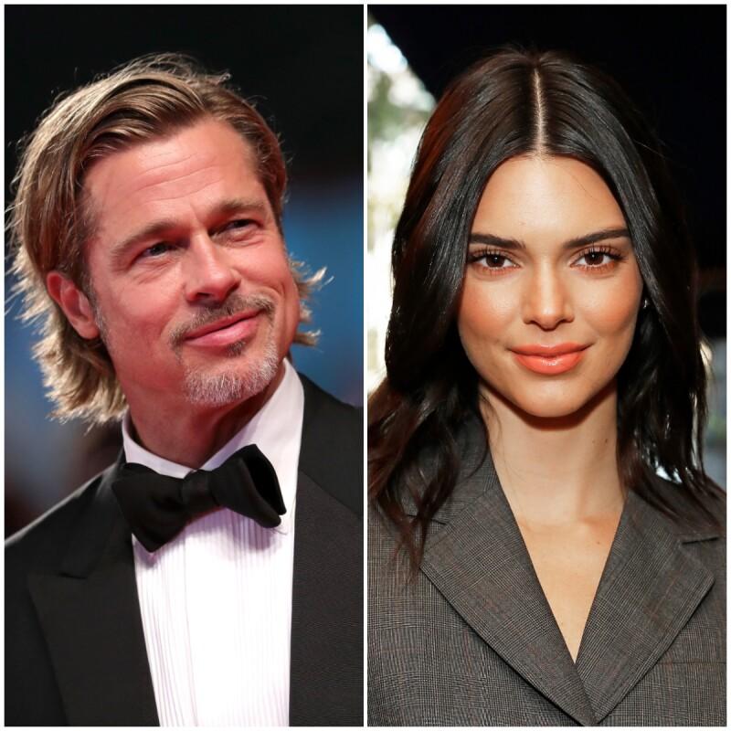 Brad Pitt y Kendall Jenner