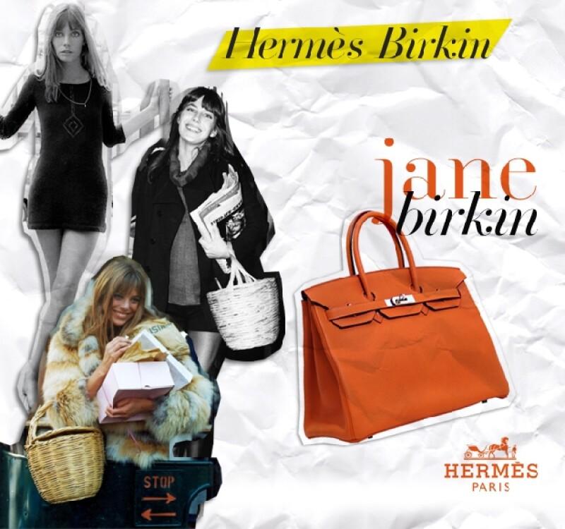 Jane iba a todas partes con su canasta.