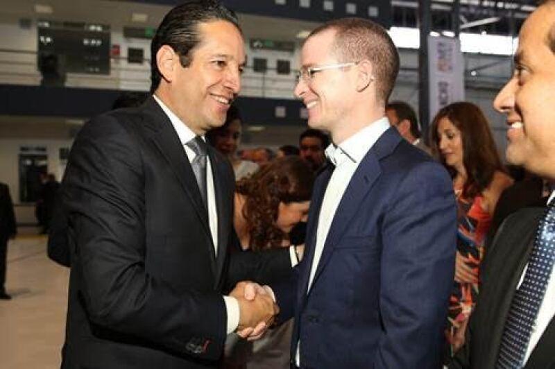 Francisco Domínguez y Ricardo Anaya