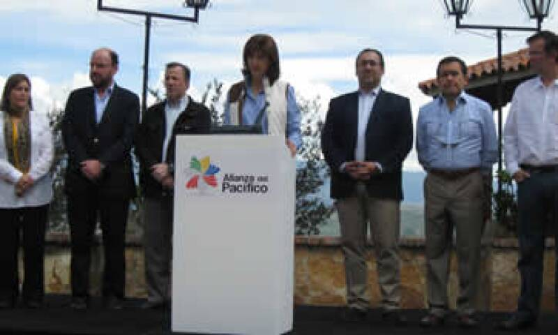 Ministros de comercio y cancilleres se reunieron en Colombia este fin de semana. (Foto: Cortesía del Gobierno de México)