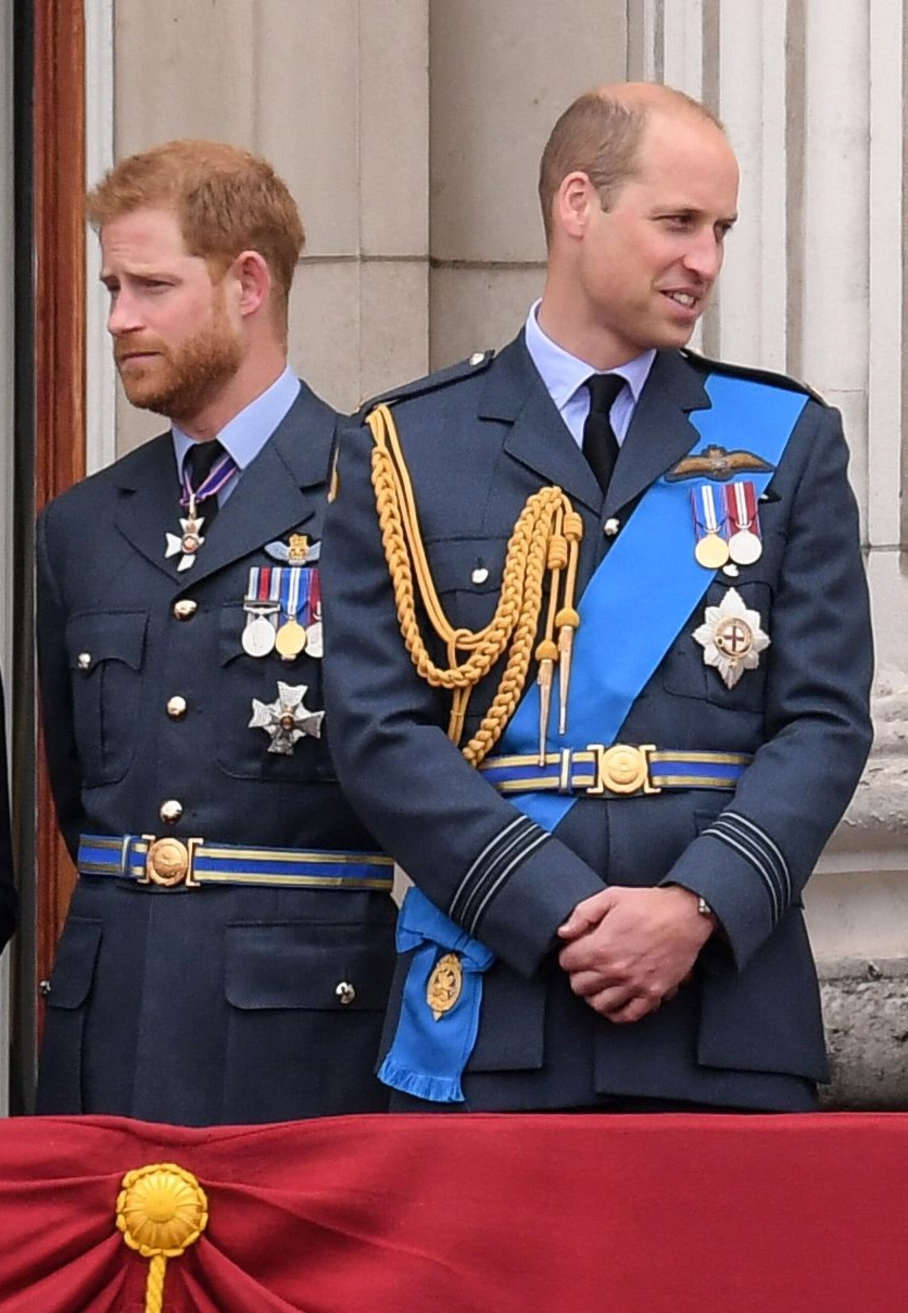 Príncipe Harry y príncipe William