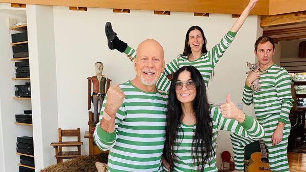 Bruce Willis y Demi Moore.