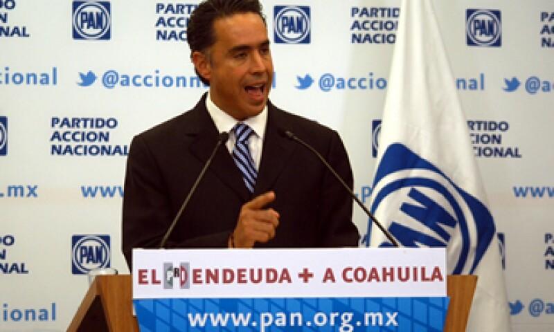 El Partido Acción Nacional ha criticado el endeudamiento del estado que fue gobernado por Humberto Moreira, ahora presidente del PRI. (Foto: Notimex)