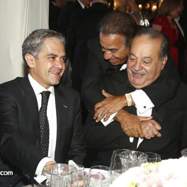 Miguel Ángel Mancera,Miguel Rincón,Carlos Slim