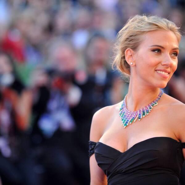 Scarlett Johansson es poesía pura