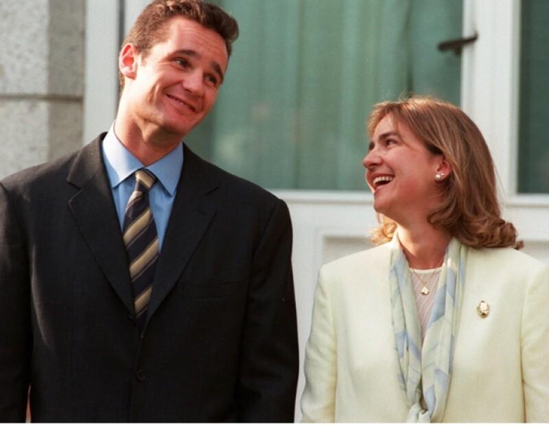 La infanta Cristina e Iñaki -que era jugador de basquetbol- están casados desde 1997.