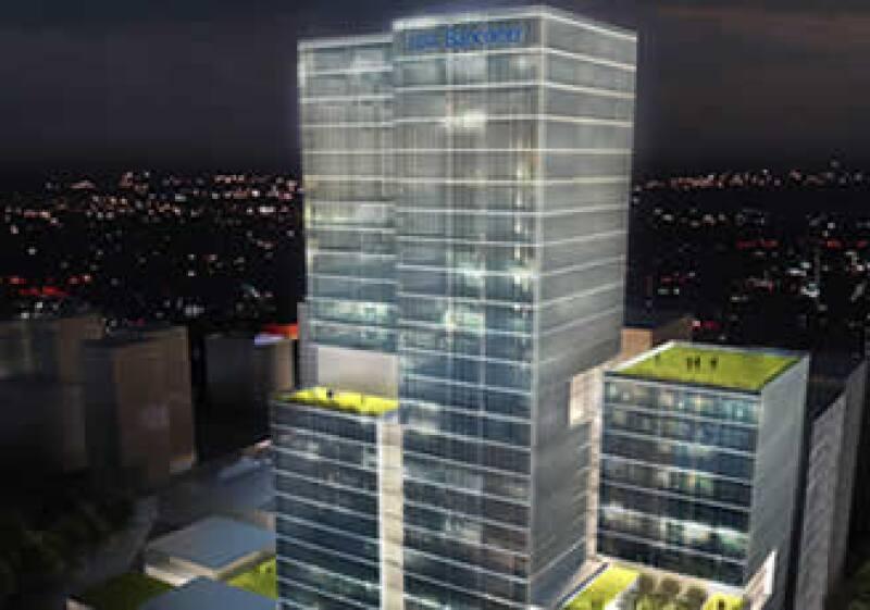 Contará con 140,000 metros cuadrados de construcción. (Foto: Cortesía BBVA Bancomer)