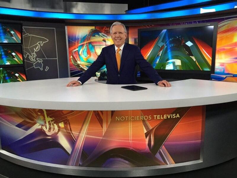 López Dóriga conducirá proximamente dos programas semanales en Televisa.