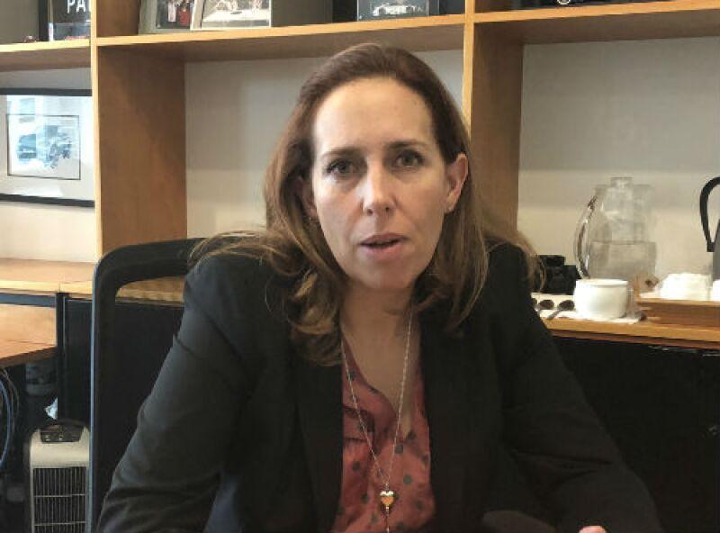 Maru Escobedo, directora general de BWM en M�xico