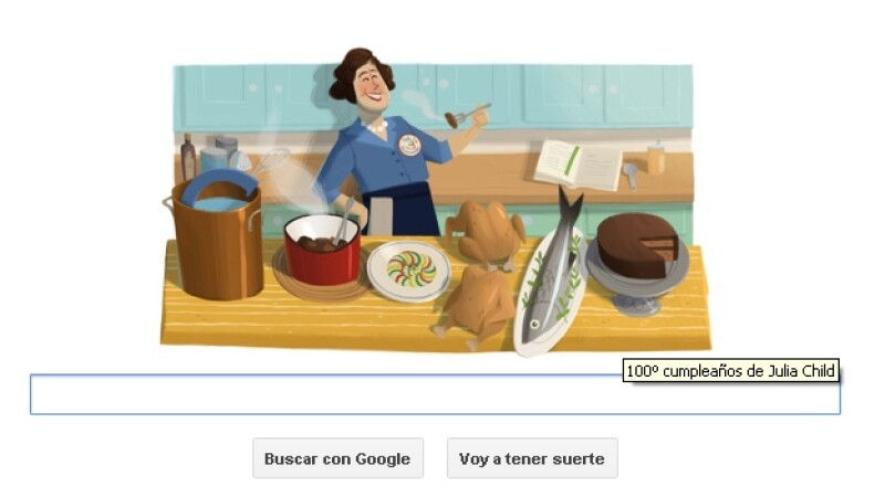julia child google doodle internet