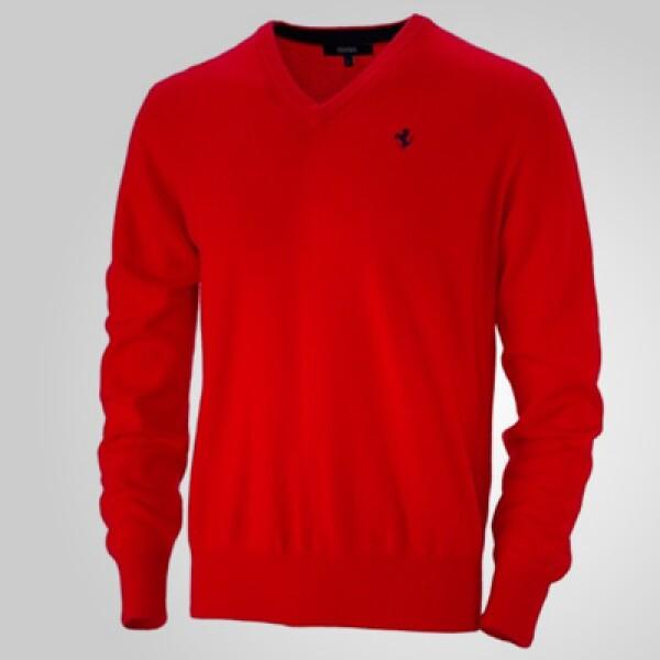"""Un estilo más clásico con este sweater con cuello en """"V""""  y material 100% cashmere. Precio: 418 dólares."""