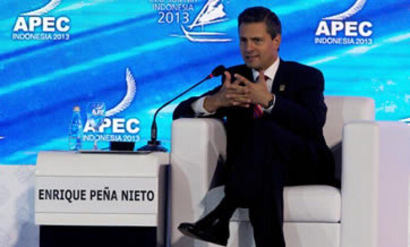 El presidente señaló que México seguirá garante de las inversiones nacionales y extranjeras.  (Foto: Notimex)