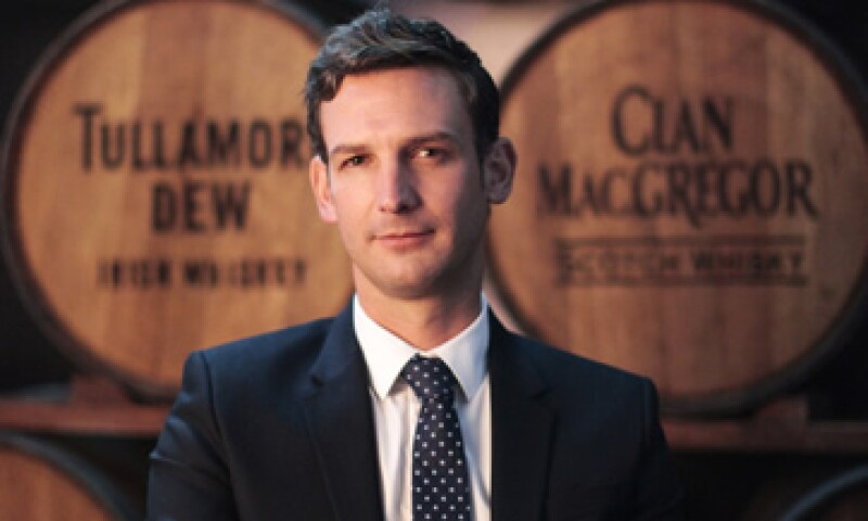 Santiago Porrero director general de William Grant & Sons México, espera ganar más mercado en el corto plazo. (Foto: Cortesía de William Grant & Sons)