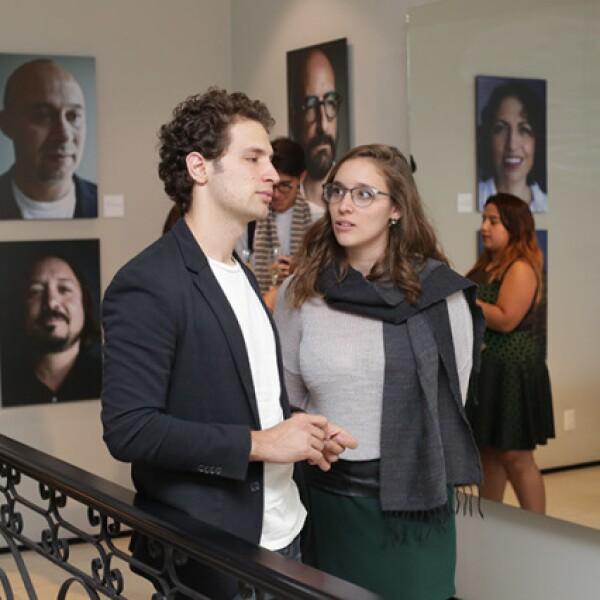 Jordi Veytia y Nicole Schwarz