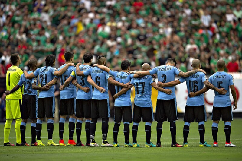 """Este domingo México se enfrentó a la selección de Uruguay en el estadio de la Universidad de Phoenix, sin embargo, algo pasó previo al partido que no hubo más que aceptar que """"fue un error humano""""."""