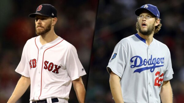 Chris Sale y Clayton Kershaw