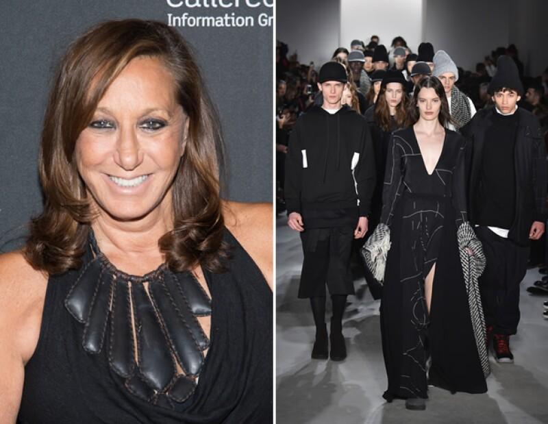 Donna Karan se retira después de 30 años. El desfile en la foto trata de la más reciente colección de Public School, quienes ahora tomarán las riendas de DKNY.