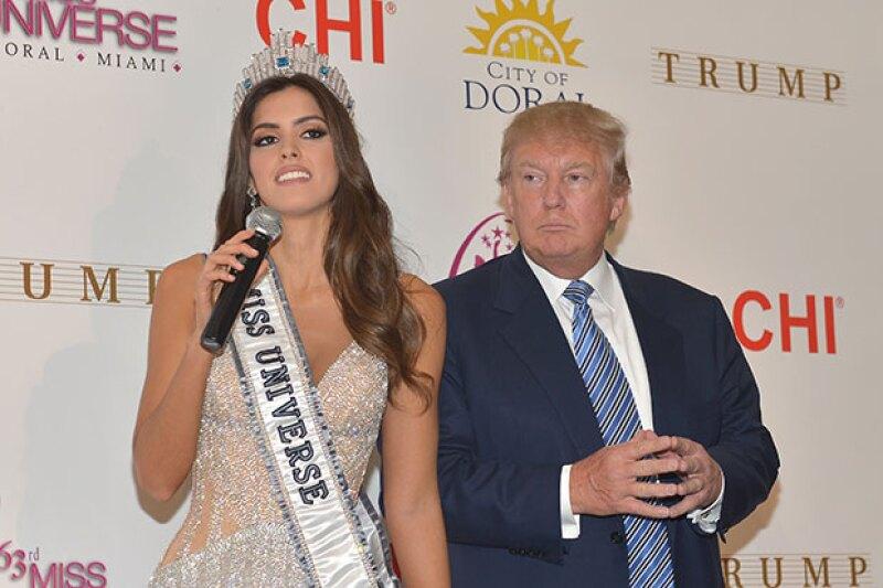 La Miss Universo respondé a Donald Trump pero se niega a entregar la corona, haciendo que éste la llame &#39hipócrita&#39.