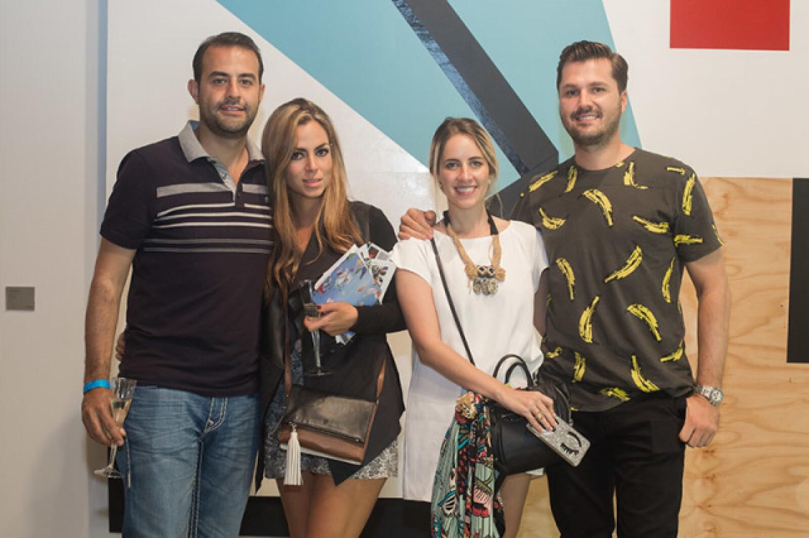 Gustavo Vargas,Raquel del Unanue,Estefanía Estrada,Juan Carlos Natale