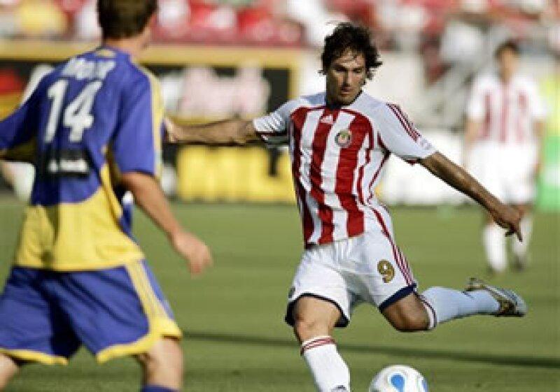 Chivas USA, filial del cuadro tapatío, ya utilizaba uniformes fabricados por Adidas. (Foto: AP)