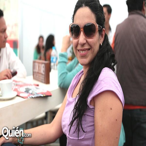 Tiaré Scanda llegó muy temprano a Guanajuato.