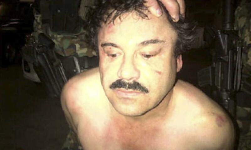 """El 40.8% de los entrevistados está de acuerdo con que el Gobierno federal negocie con """"El Chapo"""" Guzmán menos años en prisión. (Foto: Cuartoscuro)"""