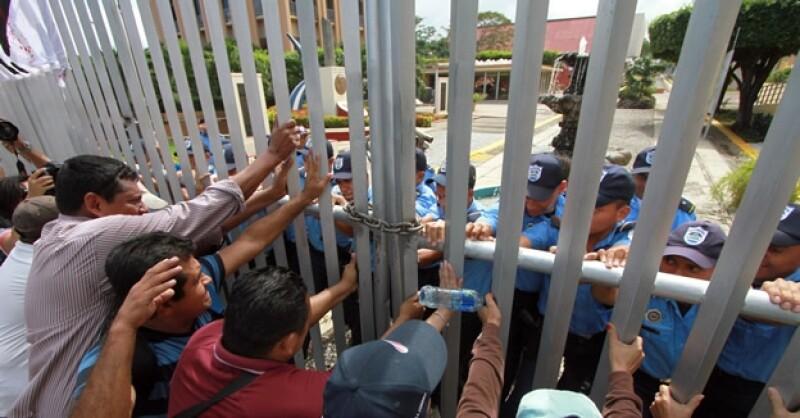 protesta Nicaragua reelección AFP