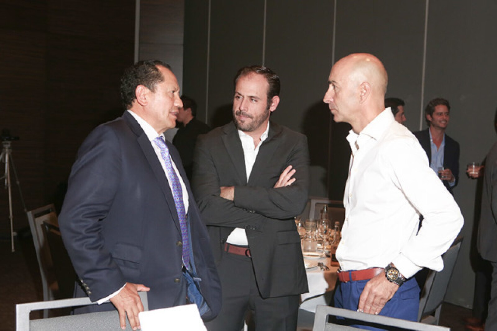 Juan Gramillo, Luis Miguel Pérez, Pako Ayestarán
