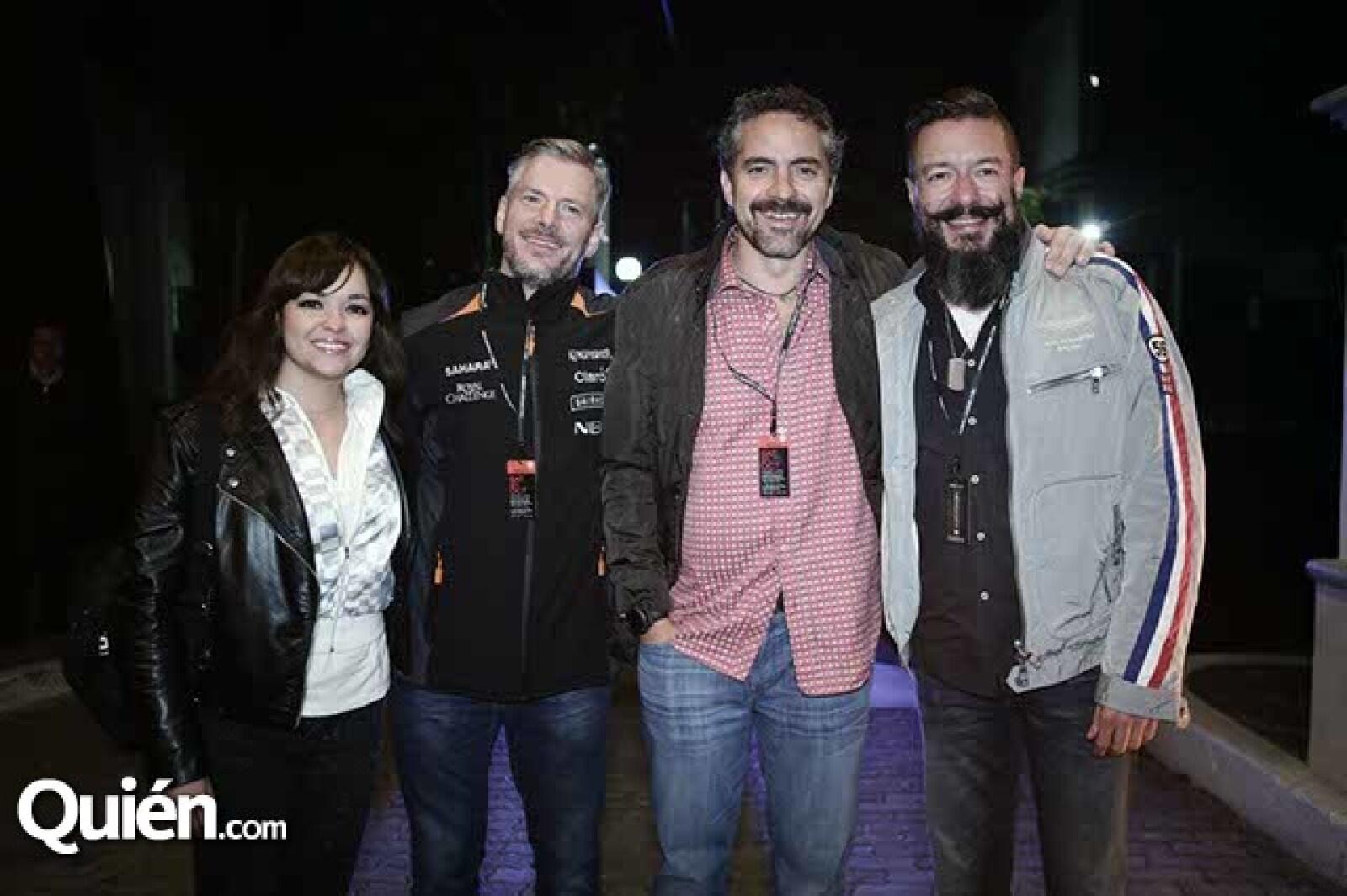 Alexis Fernández,Jean Hülkenberg,Jaime Fernández y Juan Carlos Baumgartner