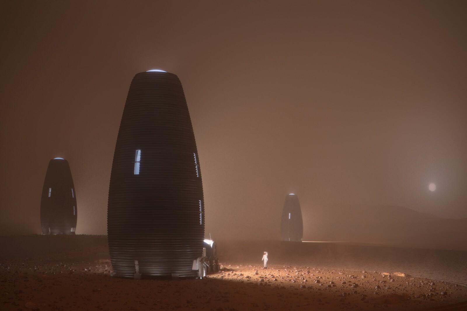 Diseño Casa Marte AI SpaceFactory