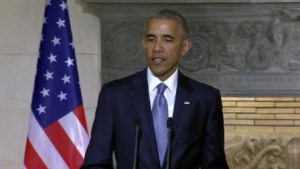 La antigua Grecia inspiró la democracia de EU: Obama