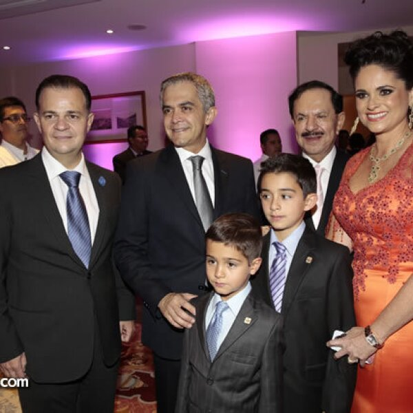 38. Ulrich Richter,Miguel Ángel Mancera,Juan Francisco Ealy Ortiz,Perla Díaz de Ealy,Leonardo Mancera,Miguel Mancera