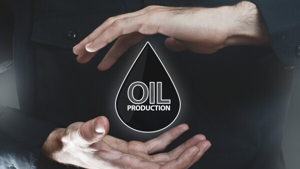 Oil production / Touch screen concept (Click for more)