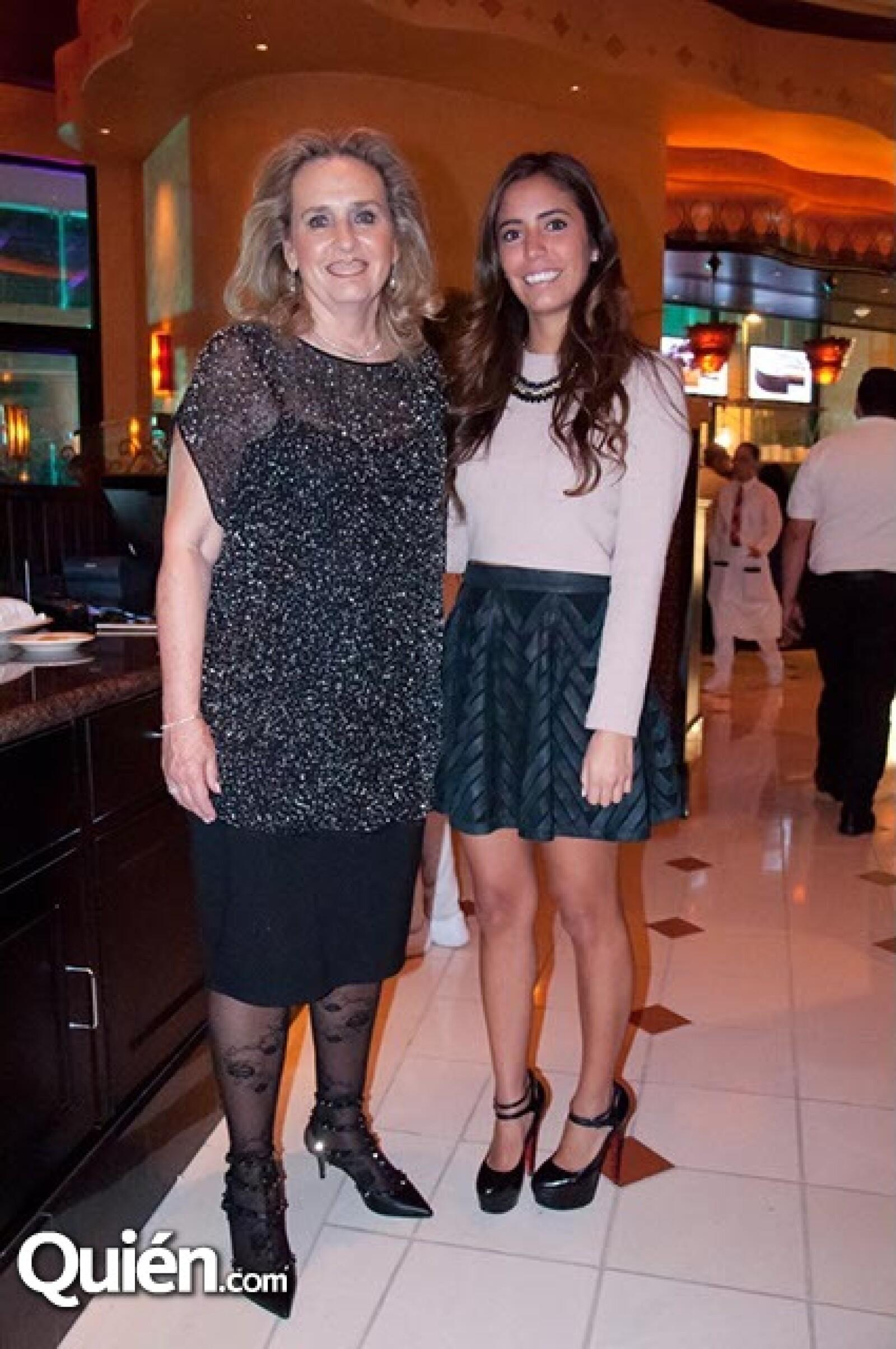 Alicia Martínez y Daniela Sánchez