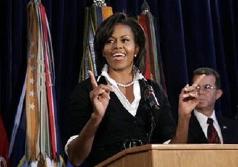 La colección está inspirada en el espíritu de la primera dama Michelle Obama. (Foto: AP)