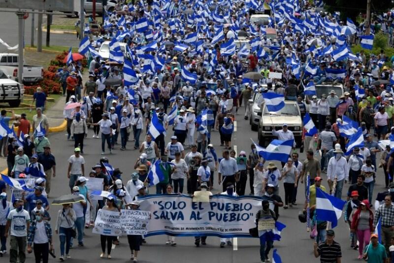 OEA Nicaragua protestas solución México