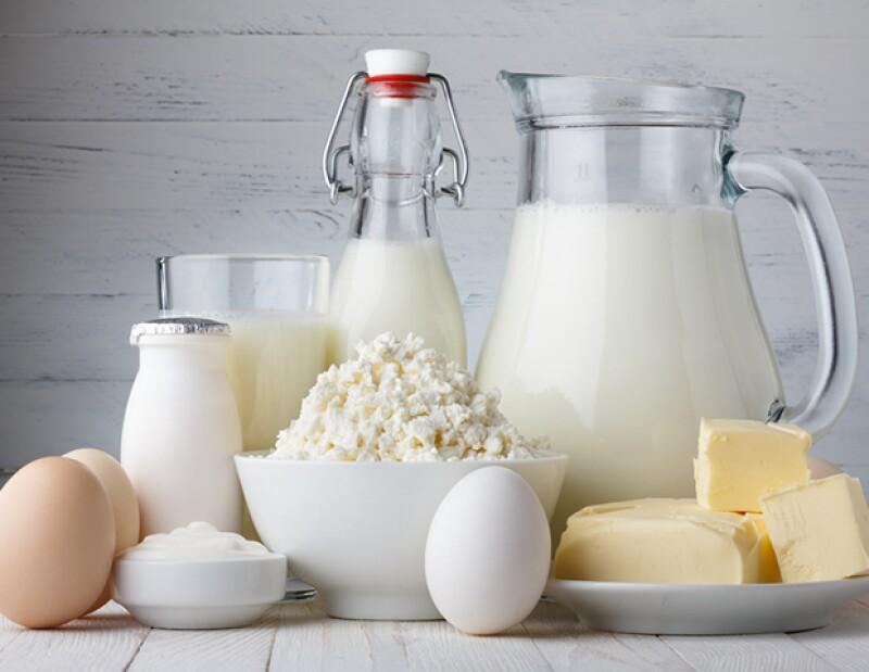 El calcio lo puedes encontrar en los lácteos.