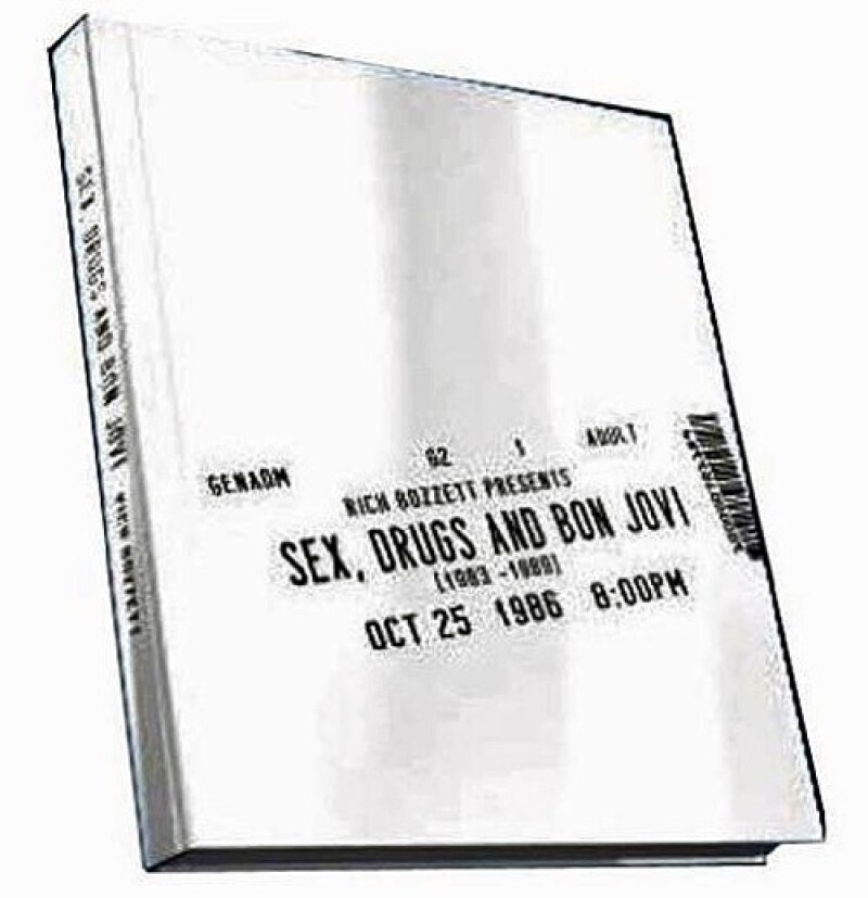 "Bon Jovi libro ""Sex, Drugs And Bon Jovi"""