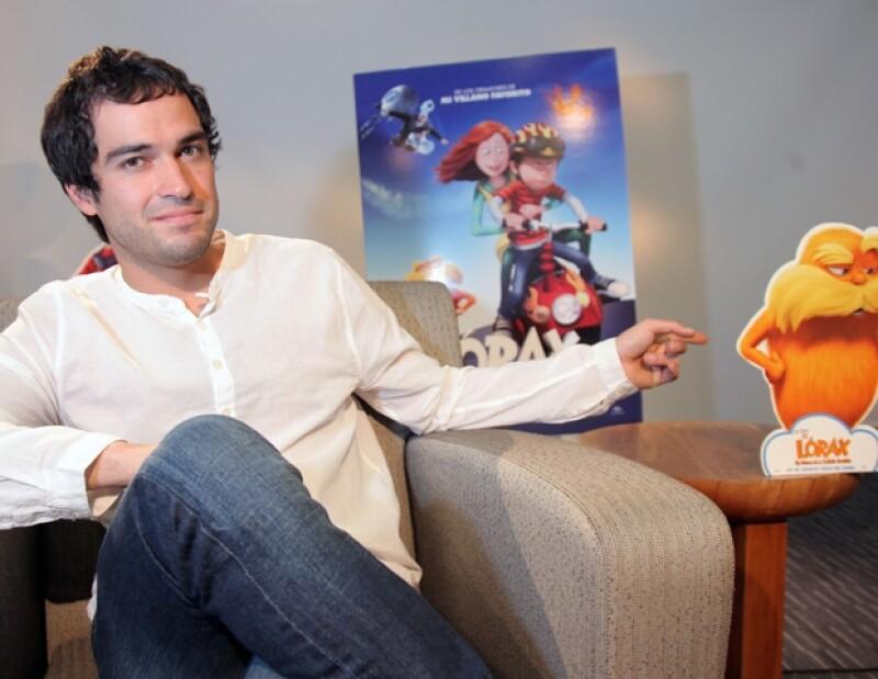 Poncho Herrera dobló la voz de un personaje en la cinta animada El Lorax.