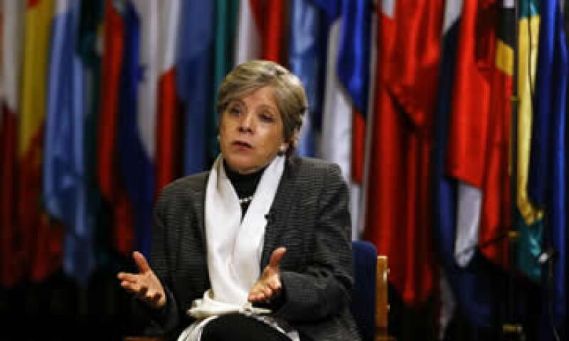 Alicia Bárcena, titular de la CEPAL, dijo que la situación es grave para la arquitectura financiera internacional. (Foto: Reuters)
