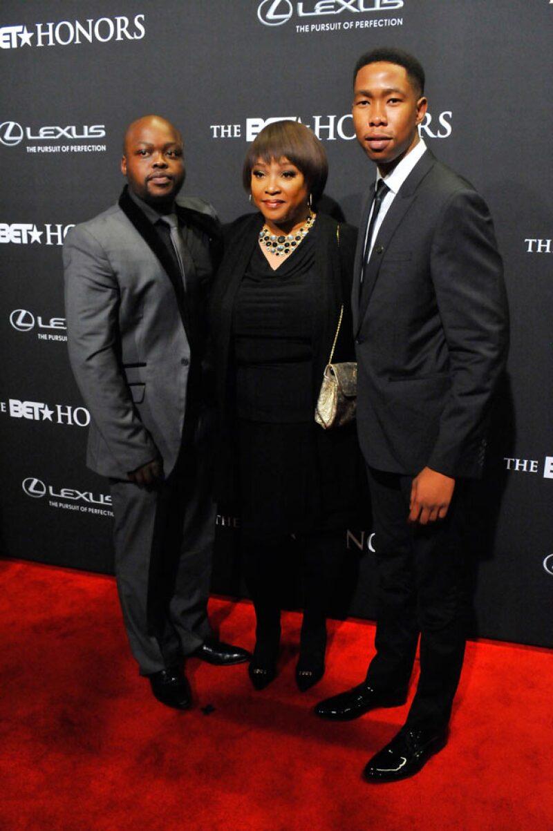 Bambatha Mandela, Zindzi Mandela, y Mbuso Mandela en los BET Honors el año pasado.