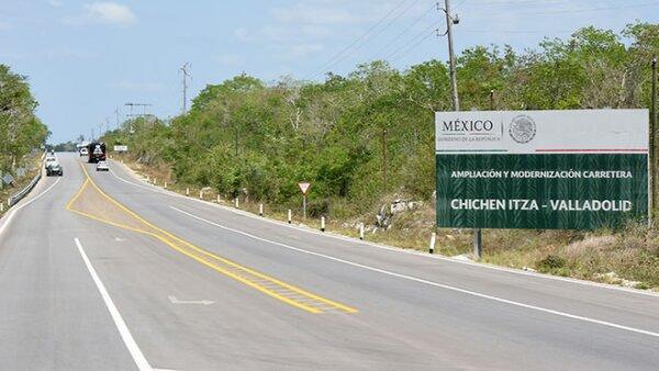 Ampliación Carretera Yucatán