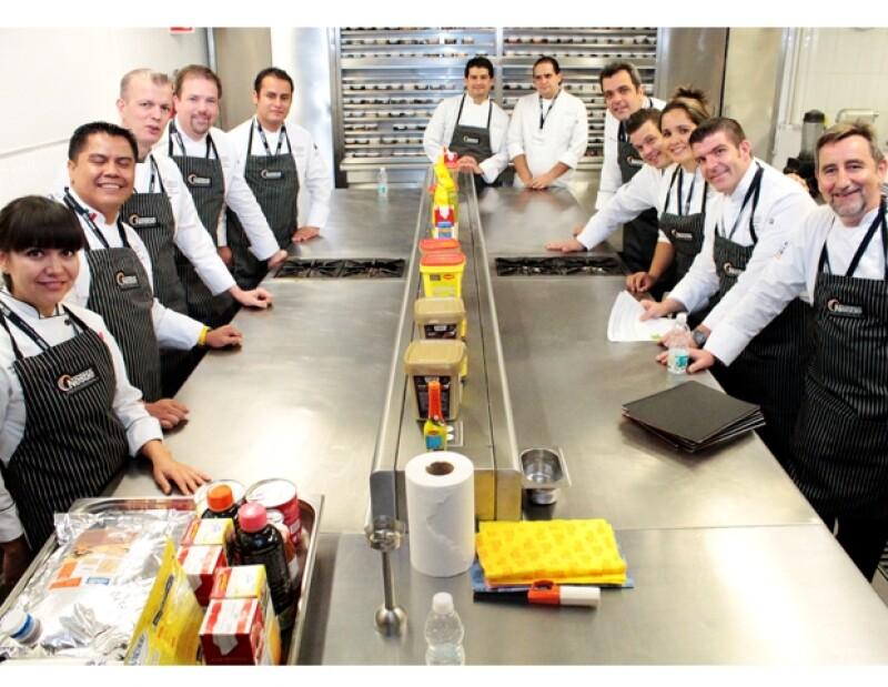 Chefs de todo el mundo cocinaron para Nestlé Professional.