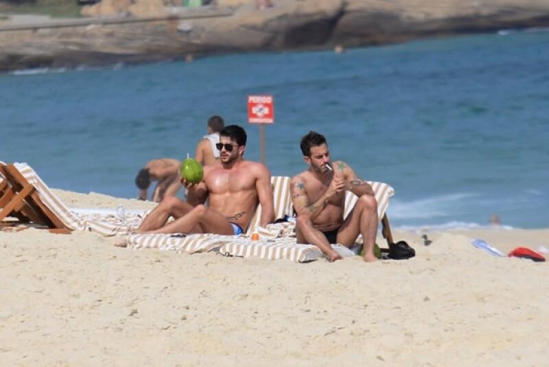 Marc Jacobs siempre ha sido cariñoso con sus parejas en público.